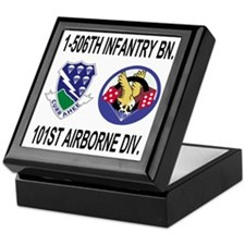 2-Army-506th-Infantry-1-506th-101st-A Keepsake Box