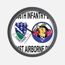 2-Army-506th-Infantry-1-506th-101st-Air Wall Clock