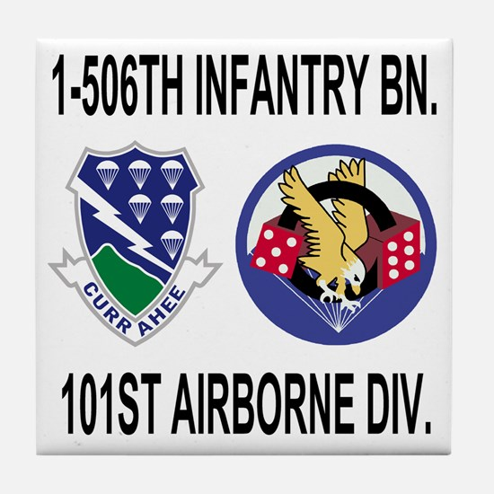 2-Army-506th-Infantry-1-506th-101st-A Tile Coaster