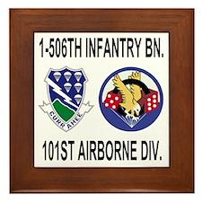2-Army-506th-Infantry-1-506th-101st-Ai Framed Tile