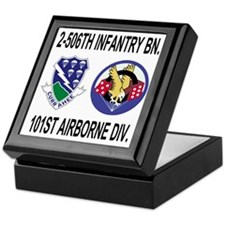 2-Army-506th-Infantry-2-506th-101st-A Keepsake Box