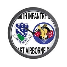 2-Army-506th-Infantry-2-506th-101st-Air Wall Clock