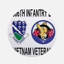4-Army-506th-Infantry-2-506th-Vietn Round Ornament