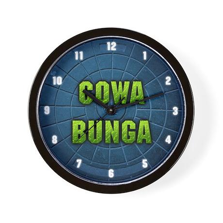 """""""Cowabunga"""" Wall Clock"""