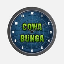 """Cowabunga"" Wall Clock"