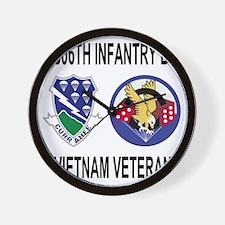 4-Army-506th-Infantry-1-506th-Vietnam-V Wall Clock