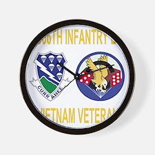 Army-506th-Infantry-2-506th-Vietnam-Vet Wall Clock