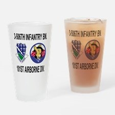 2-Army-506th-Infantry-3-506th-101st Drinking Glass