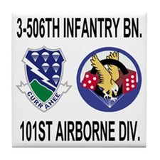 2-Army-506th-Infantry-3-506th-101st-A Tile Coaster