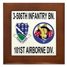 2-Army-506th-Infantry-3-506th-101st-Ai Framed Tile