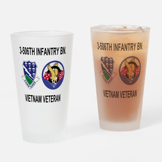 4-Army-506th-Infantry-3-506th-Vietn Drinking Glass