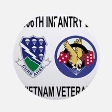 4-Army-506th-Infantry-3-506th-Vietn Round Ornament