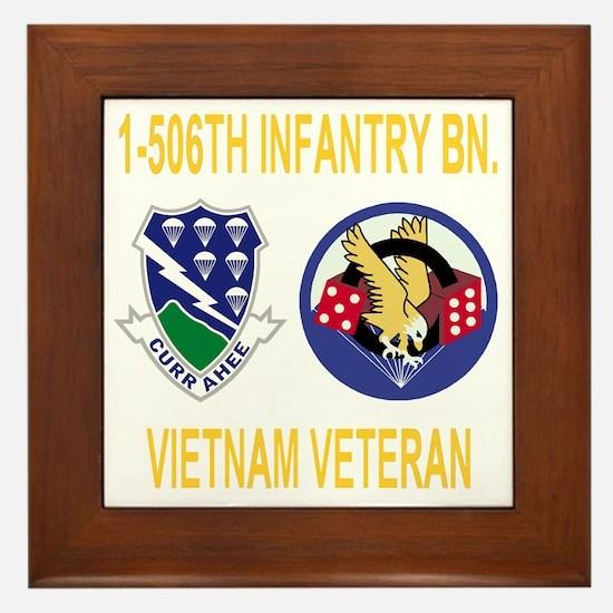 4-Army-506th-Infantry-1-506th-Vietnam- Framed Tile