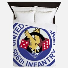 Army-506th-Infantry-Roundel-Paradice Queen Duvet
