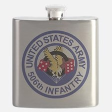 Army-506th-Infantry-Roundel-Paradice Flask