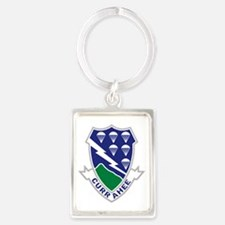 Army-506th-Infantry-Currahee Portrait Keychain