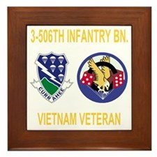 3-Army-506th-Infantry-3-506th-Vietnam- Framed Tile