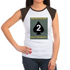 Army-506th-Infantry-2nd Women's Cap Sleeve T-Shirt