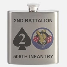 Army-506th-Infantry-2nd-Bn-Shirt-Back Flask
