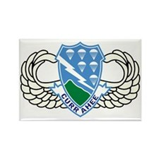 Army-506th-Infantry-Regiment-Airb Rectangle Magnet
