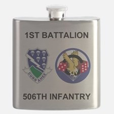 Army-506th-Infantry-BN1-Currahee-Paradice Flask