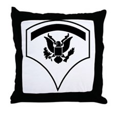 Army-SP5-Subdued Throw Pillow