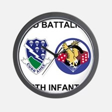 Army-506th-Infantry-BN2-Currahee-Paradi Wall Clock