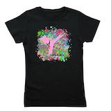 Black belt Girl's Dark T-Shirt