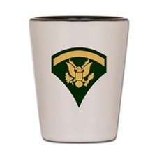 Army-SP5-Green Shot Glass
