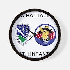 Army-506th-Infantry-BN3-Currahee-Paradi Wall Clock