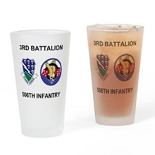 Army-506th-Infantry-BN3-Currahee-Pa Drinking Glass