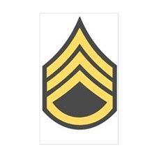 Army-SSG-Green Decal