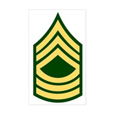 Army-MSG-Green Decal