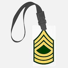 Army-MSG-Green Luggage Tag