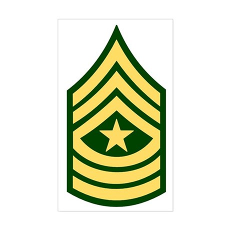 Enlisted - Rank - Pin- On - SGM | Army Rank - Branch Insignia