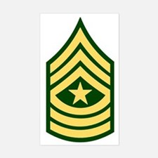 Army-SGM-Green Decal