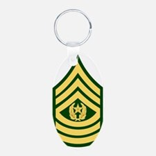 Army-CSM-Green Keychains