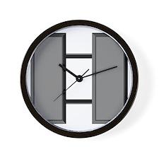 Capt-Subdued Wall Clock