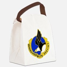 Army-101st-Airborne-Div-DUI-Bonni Canvas Lunch Bag
