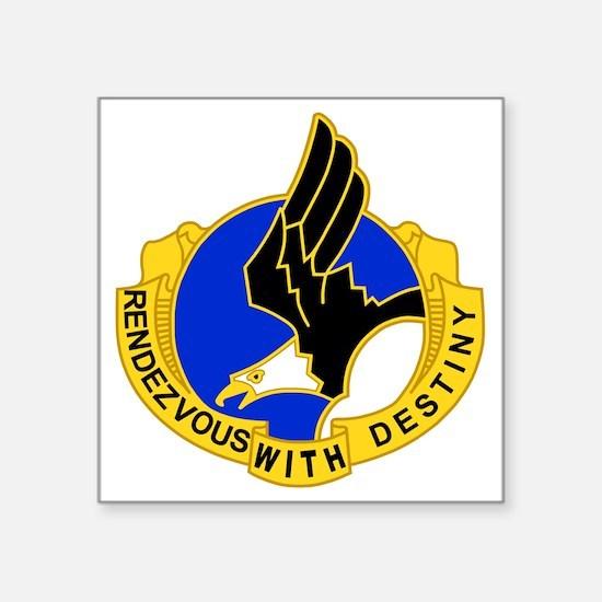 "Army-101st-Airborne-Div-DUI Square Sticker 3"" x 3"""