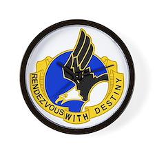 Army-101st-Airborne-Div-DUI-Bonnie Wall Clock