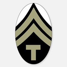 Army-WWII-T5-Four-Inches Decal