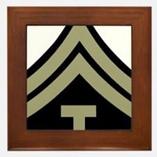 Army-WWII-T5-Four-Inches Framed Tile