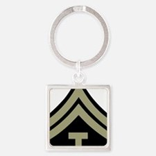 Army-WWII-T5-Four-Inches Square Keychain