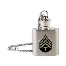Army-WWII-T4-Four-Inches Flask Necklace