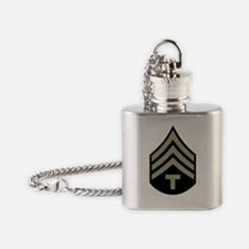 Army-WWII-T4 Flask Necklace