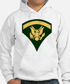 Army-SP5-Green-Four-Inches Hoodie