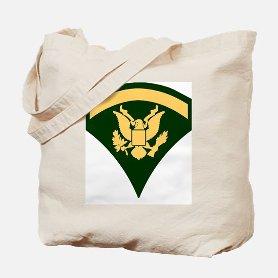 Army-SP5-Green-Four-Inches Tote Bag