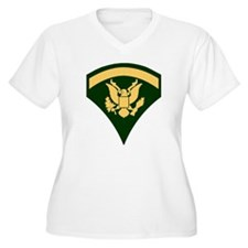 Army-SP5-Green-Fo T-Shirt