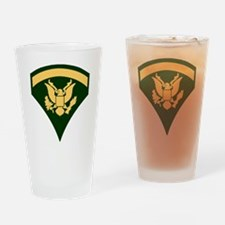 Army-SP5-Green-Four-Inches Drinking Glass